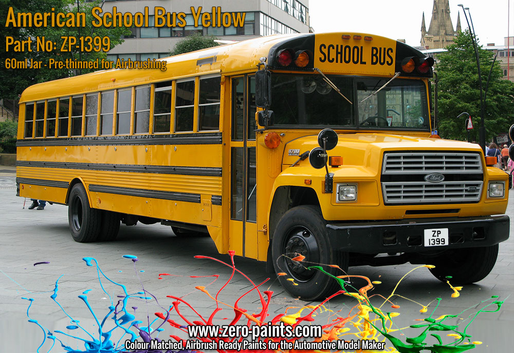American School Bus Yellow Paint 60ml