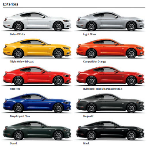 2015 Ford Mustang Paints 60ml Zp 1339 Zero Paints