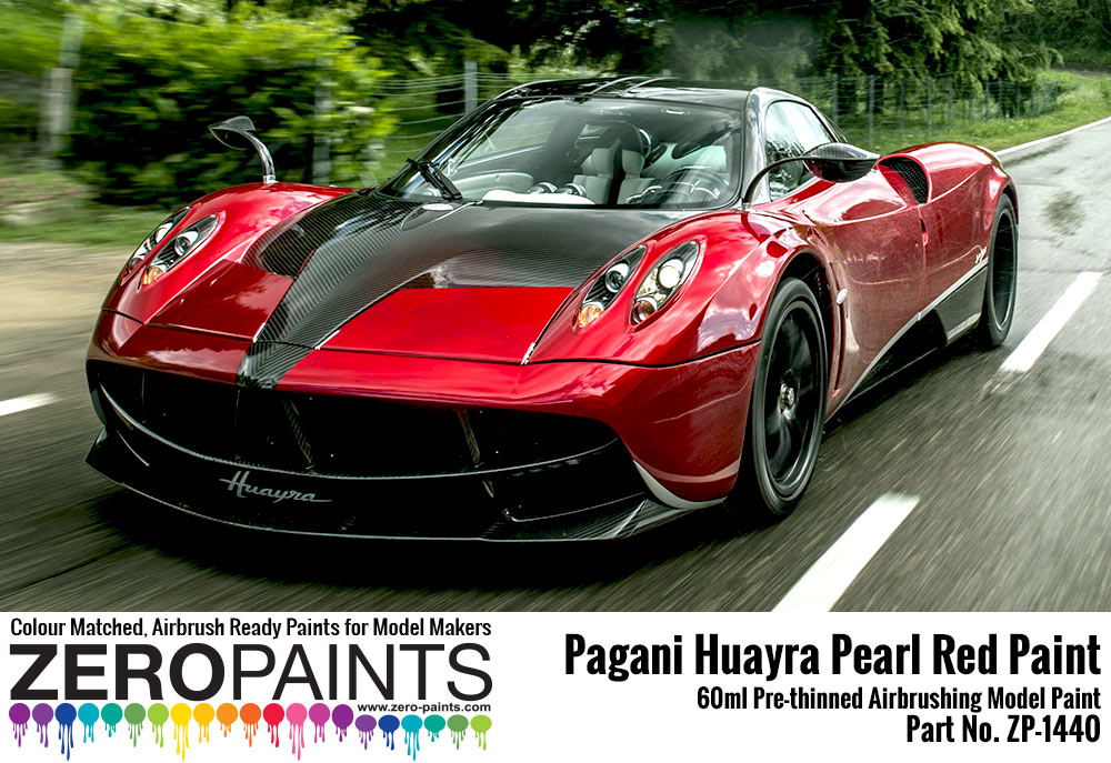 pagani huayra pearl red paint 60ml zp 1440 zero paints. Black Bedroom Furniture Sets. Home Design Ideas