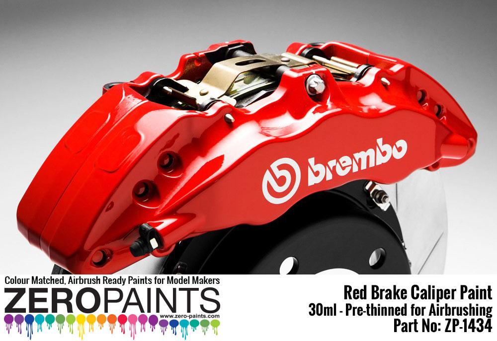 Brake Caliper Red Paint 30ml | ZP-1434 | Zero Paints