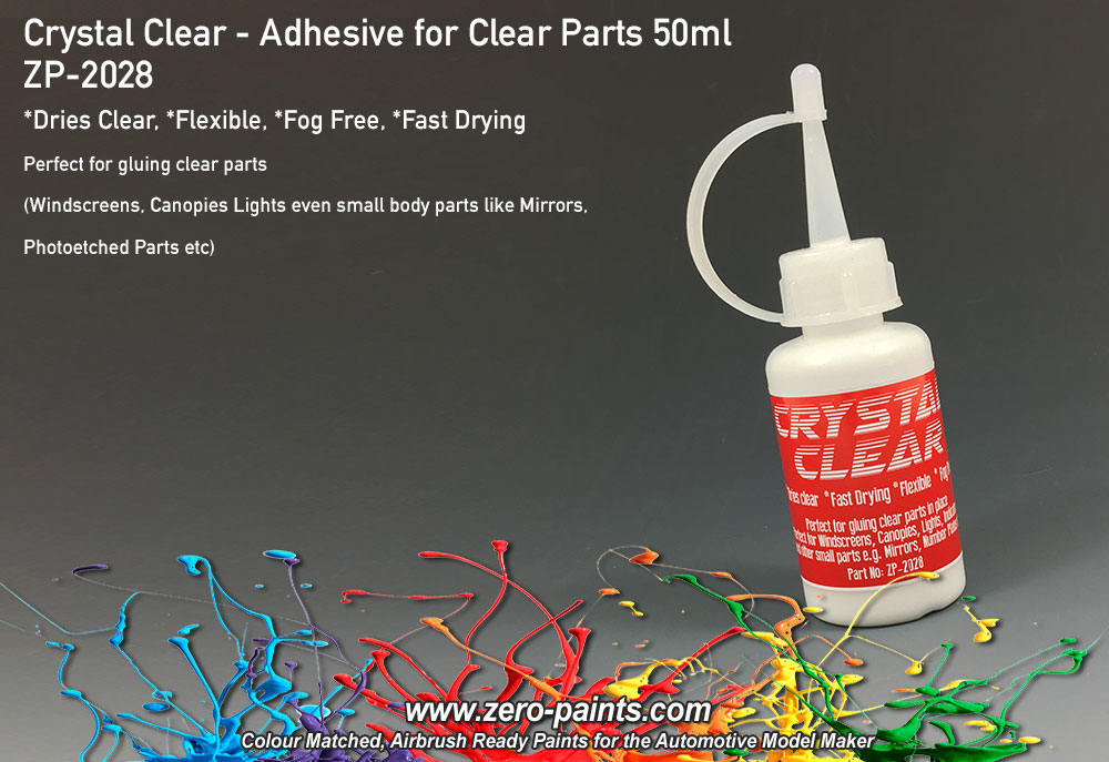Crystal Clear - Adhesive for Clear Parts 50ml