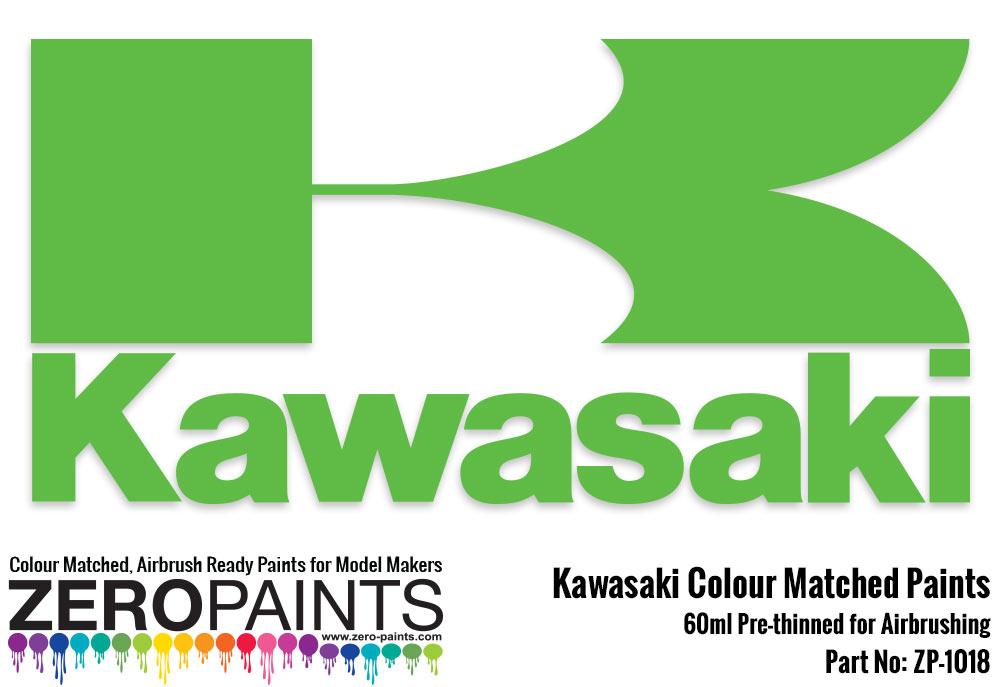 kawasaki (moto) paint 60ml   zp-1018   zero paints