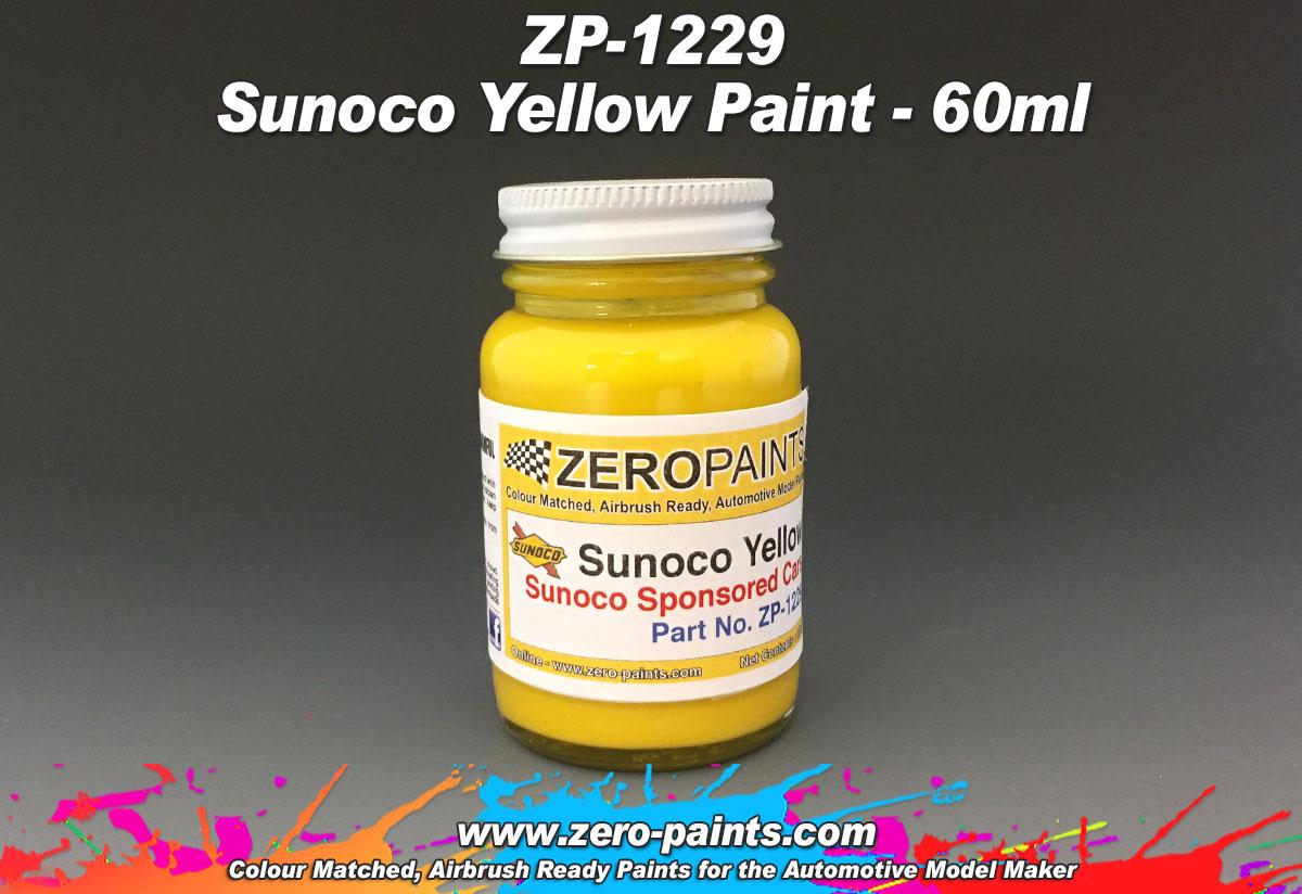 Penske Yellow Paint Code