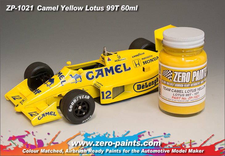 Team Camel Lotus Yellow 99t 100t Paint 60ml Zp 1021