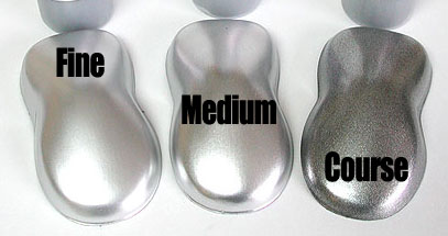 Medium metallic silver groundcoat for candy paints 60ml for How to make metallic paint