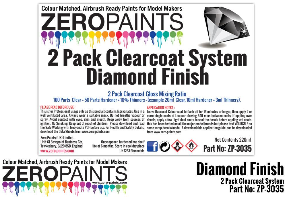 Diamond Finish - 2 Pack GLOSS Clearcoat System (2K Urethane