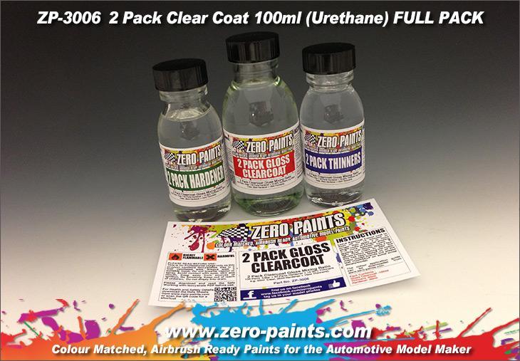 2 Pack GLOSS Clearcoat Set (2K Urethane)   ZP-3006   Zero Paints