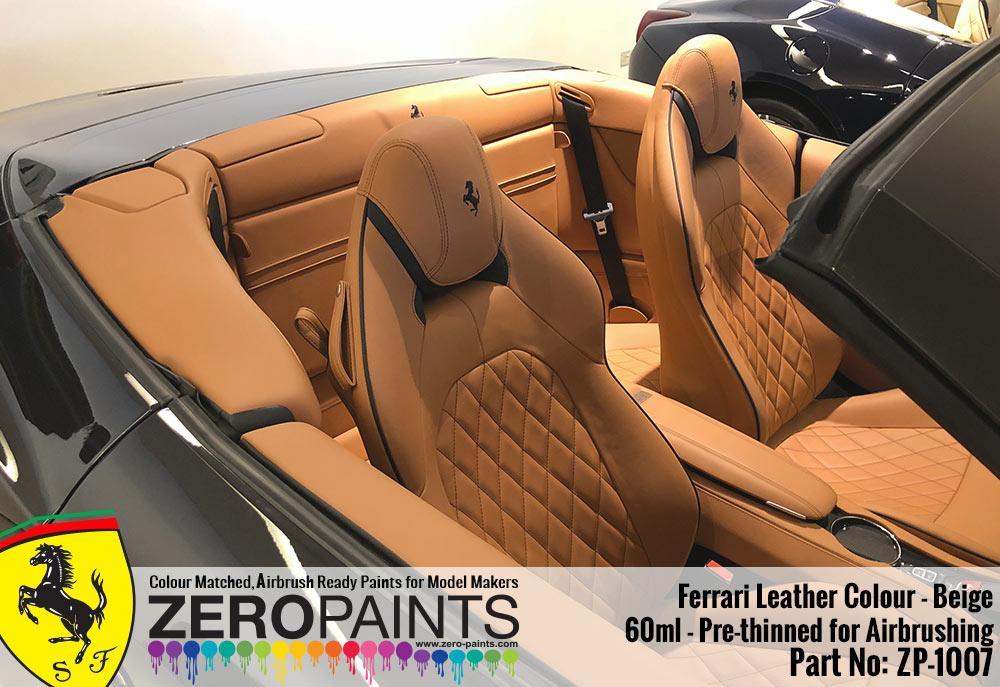 Ferrari Leather Colour Paints 60ml Rosso Fx