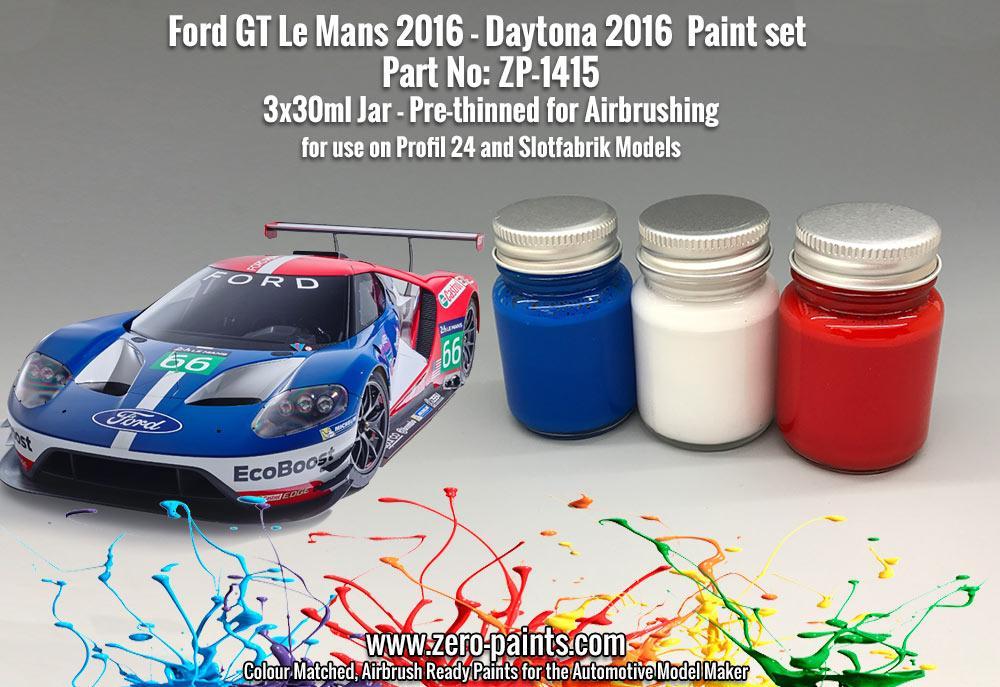 Ford Gt Le Mans  Paint Set Xml Zp  Zero Paints
