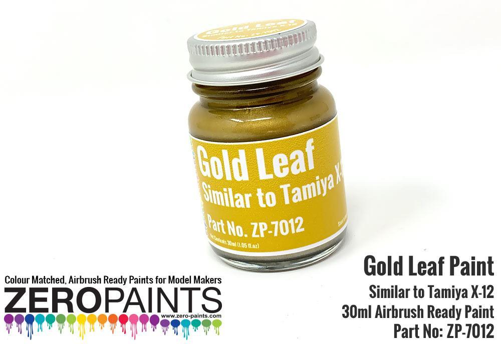 Gold Leaf Paint 30ml - Similar to Tamiya X-12   ZP-7012