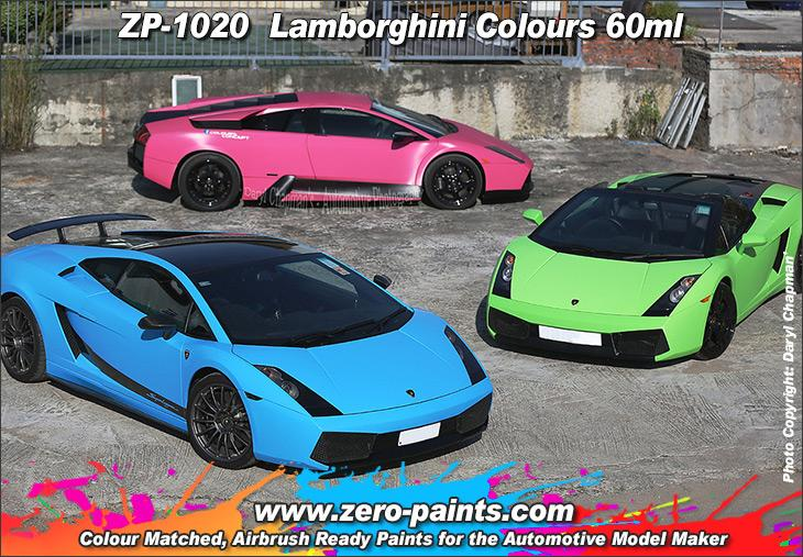 Lamborghini Paint 60ml Zp 1020 Zero Paints