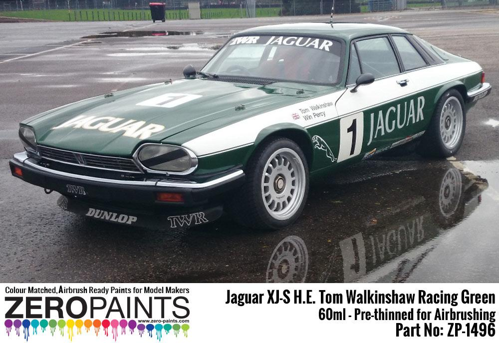 Jaguar XJ-S H E  Tom Walkinshaw Racing Green Paint 60ml | ZP-1496