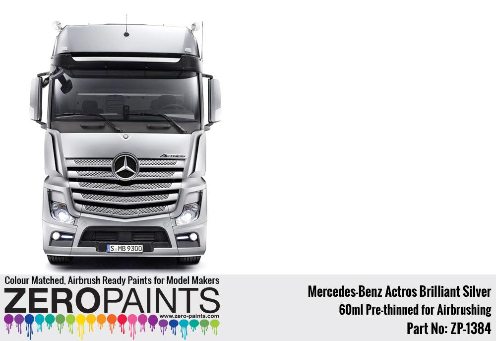 Mercedes Benz Actros Brilliant Silver Paint 60ml