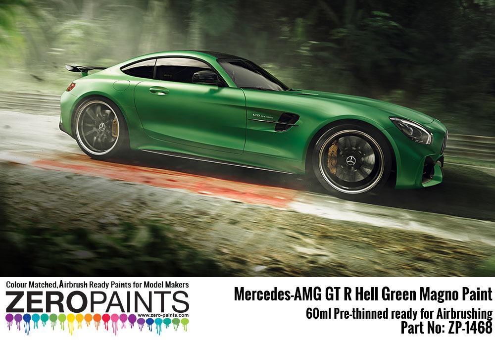 Mercedes Amg Gt R Hell Green Matt Paint 60ml