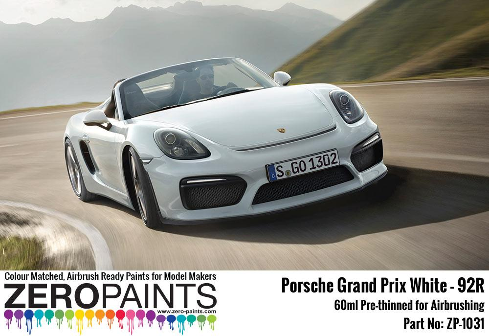 Porsche Paint 60ml | ZP-1031 | Zero Paints