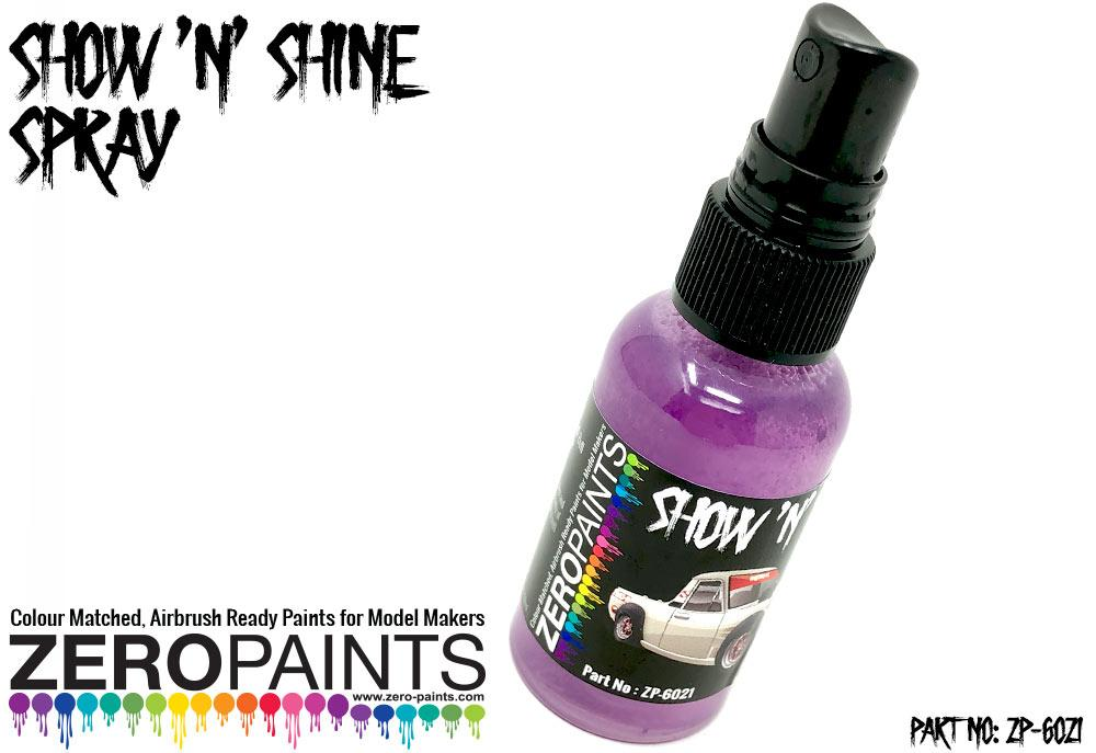Show 'n' Shine Spray (for Plastic and Diecast Models)