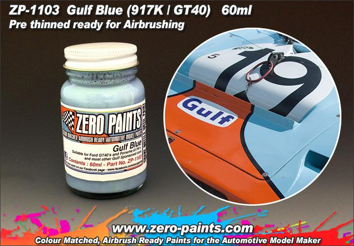 Gulf Blue Paint For 917 S And Gt40 Etc 60ml