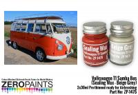 Volkswagen T1 Samba Bus (Sealing Wax - Beige Grey) 2x30ml