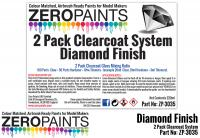 Diamond Finish - 2 Pack GLOSS Clearcoat System (2K Urethane) 220ml