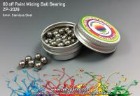 60 off Stainless Steel Paint Mixing Ball Bearings