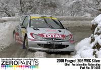 Peugeot 206 WRC 2001 'Platinum Silver' Paint 60ml