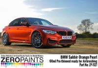 BMW Sakhir Orange Pearl Paint 60ml