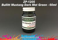 Bullit Mustang - Dark Met Green Paint 60ml