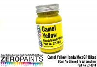 Camel Yellow Honda MotoGP Bikes 60ml
