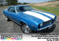 Chevrolet Le Mans Blue Paint 60ml (Fast and Furious '69 Chevy Camaro Yenko)