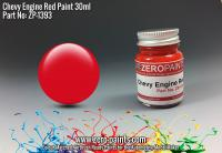Chevy USA Red Engine Paint 30ml