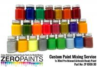 Custom Paint Mixing Service 30ml