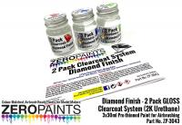 Diamond Finish - 2 Pack GLOSS Clearcoat System (2K Urethane) 3x30ml