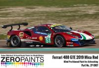 2019 Ferrari 488 GTE (AF Corse) Mica Red Paint 60ml