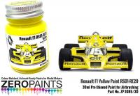 Renault F1 Yellow Paint RS01-RE20 30ml