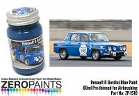 Renault 8 Gordini Blue (Bleu Gordini) Paint 60ml