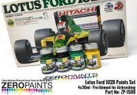 Lotus Ford 102D Paint Set 4x30ml