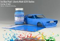 Ice Blue Pearl Paint for Liberty Walk GC111 Skyline (Ken Mary) 60ml