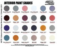 Interior Paints - 60ml
