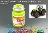 Claas Lime Green Paint 60ml (Farm Equipment)