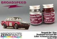 Broadspeed Ford Escort Mk1 Paint Set 2x30ml