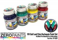 Volkswagen Harlequin Paint Set 4x30ml