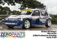 MG Metro 6R4 Rothmans - White and Blue Paint Set 2x30ml