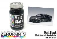Matt Black Paint (Flat Black) - 60ml