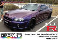 Midnight Purple 3 - LX0 Nissan GT-R R34 2x30ml (Limited Edition Colour)