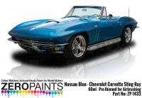 Nassau Blue Paint  - 1965 Chevrolet Corvette 60ml (Revell Kit)