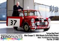 Mini Cooper S - 1964 Monte Carlo Rally Winner Tartan Red Paint 60ml