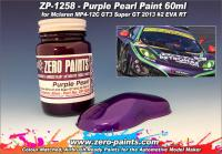 Purple Pearl Paint (Mclaren MP4-12C GT3 Super GT 2013 #2 EVA RT) 60ml