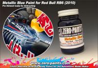 Red Bull (RB6) Torro Rosso Metallic Blue Paint 60ml