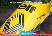 Renault F1 Yellow Paint RS01-RE20 60ml