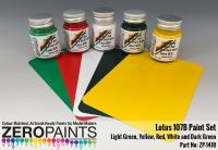 Lotus 107B Paint Set 5x30ml